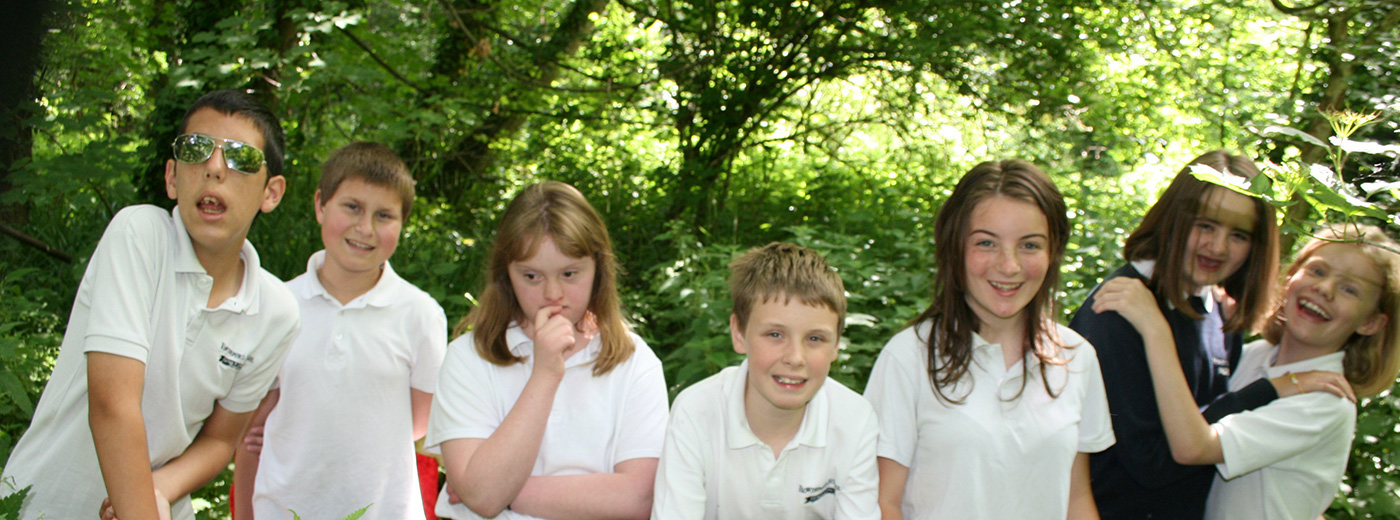 Rowdeford Children in the woodland