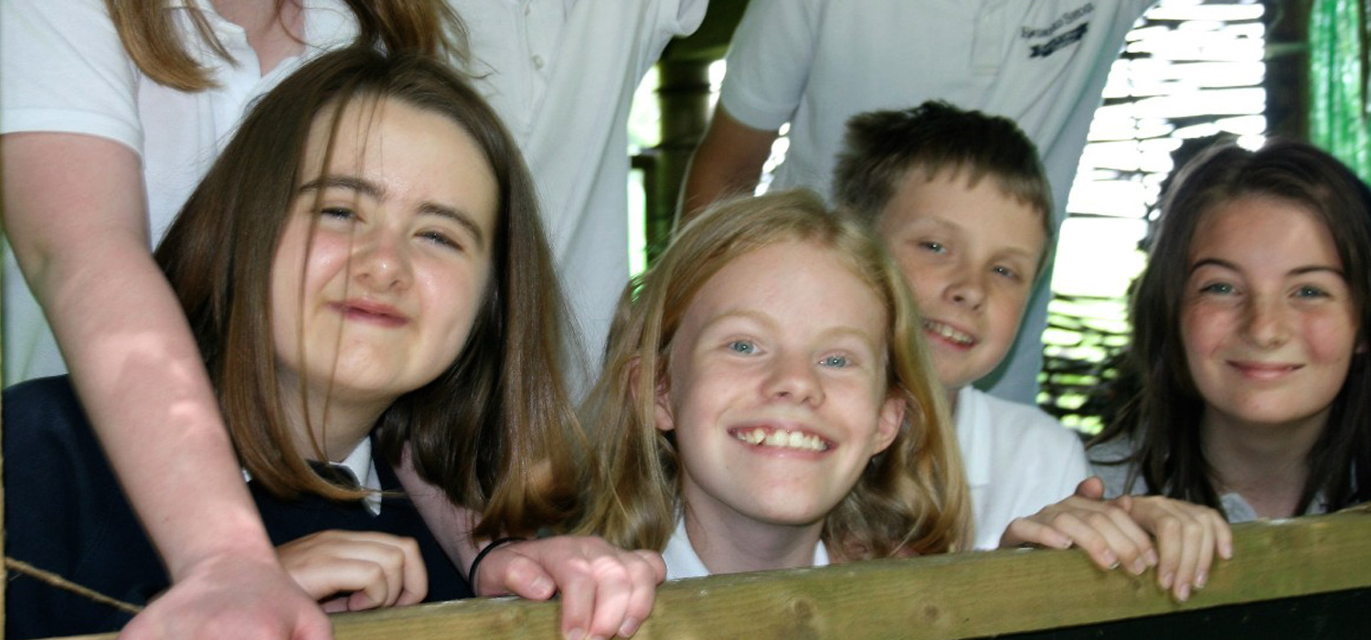 Smiling Rowdeford children